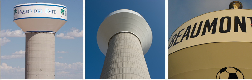Composite Elevated Storage Tank Aesthetics – Landmark Structures