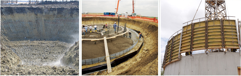 Foundation Design and Engineering, Elevated Water Storage Tank
