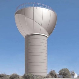 Elevated Storage Tank Designs for Special Interests - Landmark