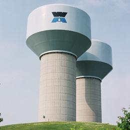 Elevated Storage Tank Designs for Special Interests - Landmark